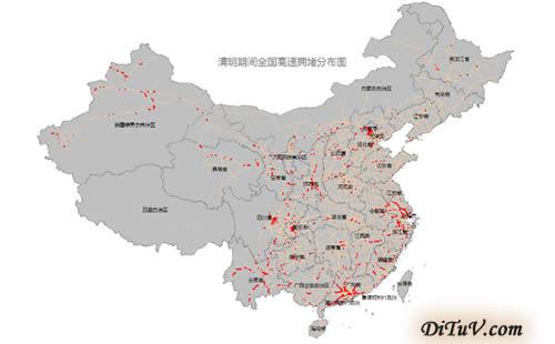 最新地图标记工具发布的清明出行预测