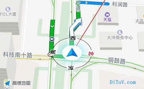 深圳高德地图标注