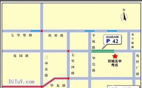 停车场地图标注