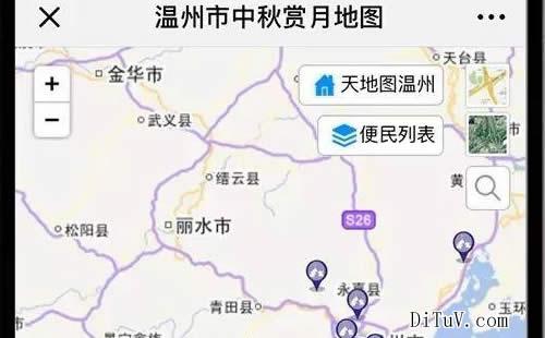 温州地图标注