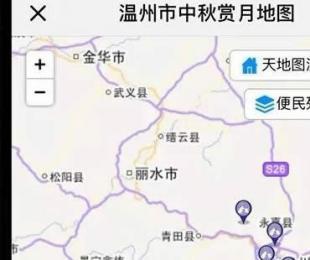 中秋去哪儿赏月?温州最佳赏月点地图标注请收好