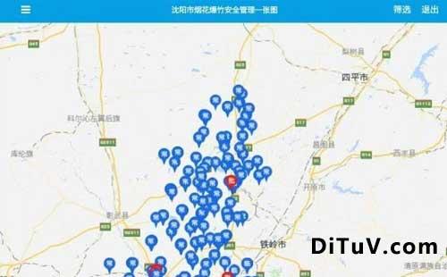 APP地图标注